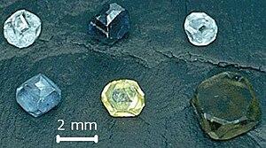 Synthetic diamond