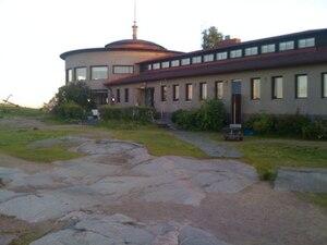 Liuskasaari - Helsingfors Segelsällskap Clubhouse