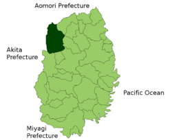 Hachimantai in Iwate Prefecture.png