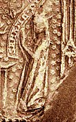 Haelwig of Sweden seal image c 1300 (photo 1905).jpg