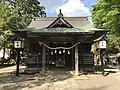 Haiden of Yasaka Shrine 20170503.jpg