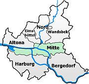 Distritos de Hamburgo