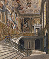 Hampton Court, Great Staircase, by Richard Cattermole, 1817 - royal coll 922128 313700 ORI 2.jpg