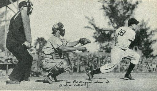 Hank Erickson and Joe DiMaggio