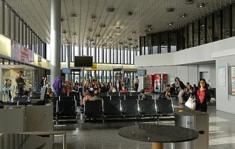 Hannover Airport - Departure area