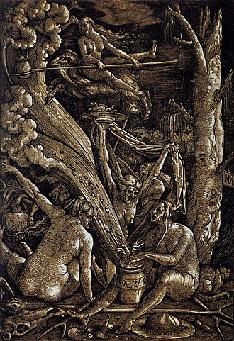 Witches' Sabbath - Image: Hans Baldung Witches Sabbath WGA01221