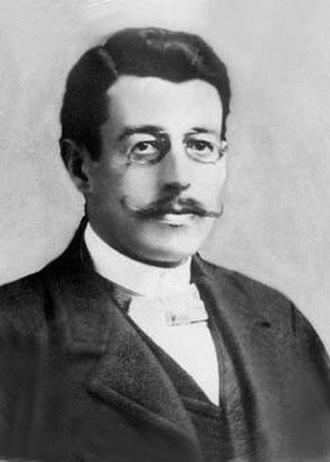 Hans Steffen - Picture of Hans Steffen in 1916