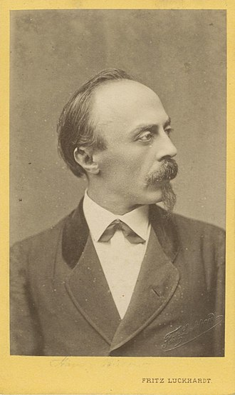 Hans von Bülow - Hans von Bülow portrait (10134416244)
