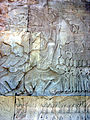 Hanuman (or Sugriva) Churning the Sea of Milk Angkor Wat 0755.jpg