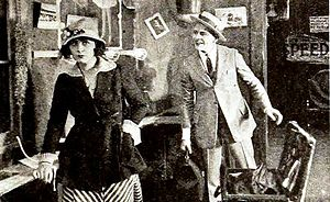 Hard Boiled (1919 film) - Still with Dorothy Dalton and C. W. Mason