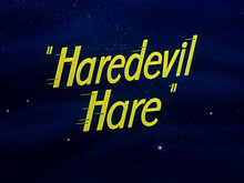 Description de l'image Haredevil Hare title card.png.