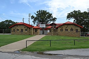 National Register of Historic Places listings in Okmulgee County, Oklahoma - Image: Harmon Athletic Field, Okmulgee, OK