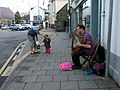 Harpist in Fishguard Square - geograph.org.uk - 1281840.jpg