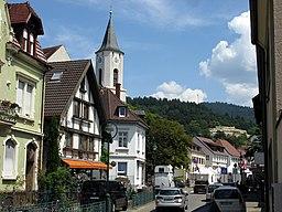 Hauptstraße in Freiburg im Breisgau
