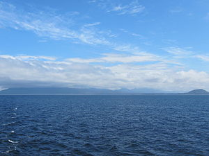 Hecate Strait - Hecate Strait and Pitt Island