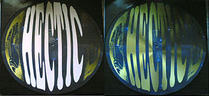 Picture disc - Vinylgroover – Phantasm (Remix) / I Can Live Without You – 1996 Hectic Records / HECT 016 limited edition picture disc version.