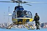 Helicóptero da PRF decola da sede estadual da instituição em Curitiba (36446282803).jpg