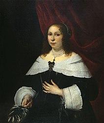 Bartholomeus van der Helst: Lady in Black