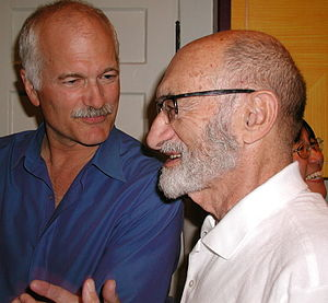 Section 7 of the Canadian Charter of Rights and Freedoms - Henry Morgentaler, right, successfully challenged abortion law as a breach of security of person in R. v. Morgentaler (1988).