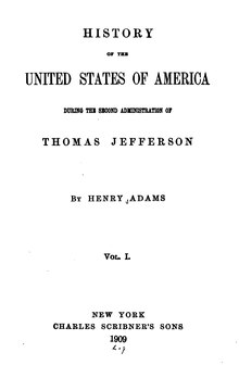 Henry Adams' History of the United States Vol. 3.djvu