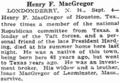 Henry Ferguson MacGregor on Wednesday, September 5, 1923 in the Boston Herald.png