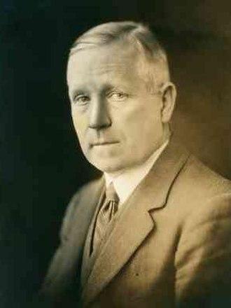 Henry Simpson Newland - Newland in c.1932