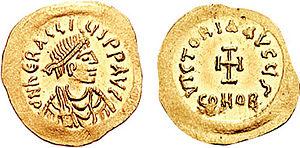 Heraclius - Tremissis of Emperor Heraclius