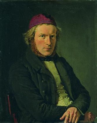 Herman Wilhelm Bissen - Portrait by Christian Albrecht Jensen, 1835,  Ny Carlsberg Glyptotek