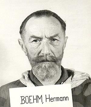 Hermann Boehm (eugenicist) - Hermann Boehm at the Nuremberg Trials (1947)