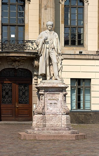Hermann von Helmholtz - Helmholtz's statue in front of Humboldt University in Berlin