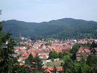 Herzberg am Harz - View from the castle
