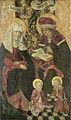 Het gezin van Zebedeus. In dorso restanten van de engel Gabriël van een verkondiging aan Maria ? Rijksmuseum SK-A-2799.jpeg