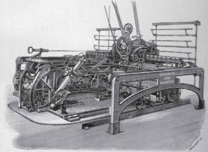 John Hetherington & Sons - Headstock of a Hetherington designed Spinning Mule 1892