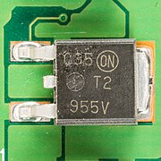 Hewlett-Packard JetDirect 170X - board - ON Semiconductor T2955V-2742.jpg
