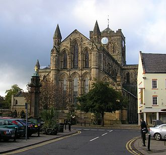 Hexham Abbey - East end of Hexham Abbey