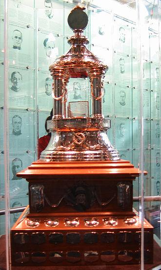 Vezina Trophy - Image: Hhof vezina