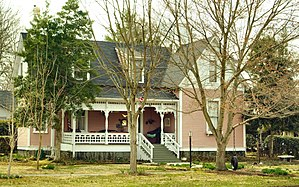 National Register of Historic Places listings in Coffee County, Tennessee - Image: Hickerson house tn 1