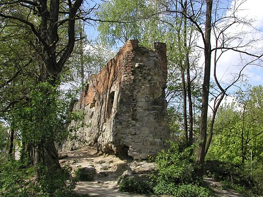 High Castle Lviv Ruins