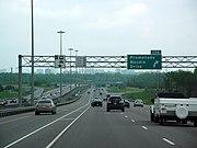 Highway 417 near Highway 416