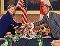 Hillary Rodham Clinton and Hirofumi Nakasone 20090217.jpg