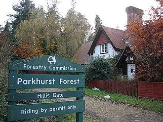 Parkhurst Forest - Hillis Gate - Parkhurst Forest