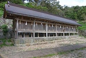 Setsumatsusha - Image: Hinomisaki jinja sessha