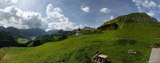 Hl Martin Bürstegg Panorama 1