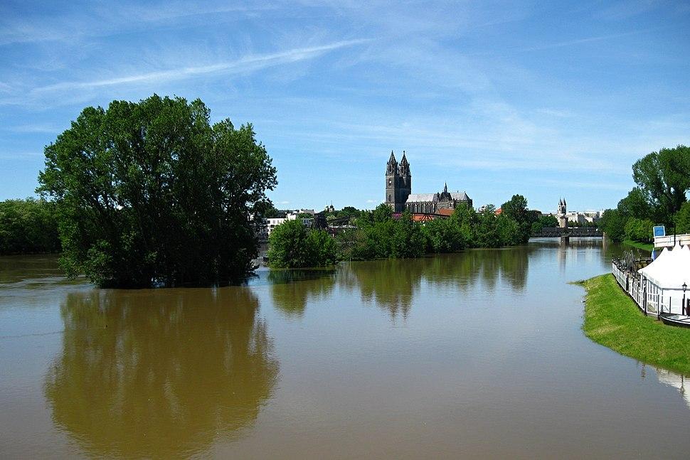 Hochwasser 2013 Magdeburg 2013-06-05