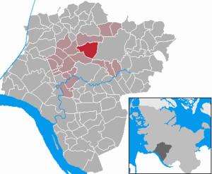 Hohenaspe - Image: Hohenaspe in IZ