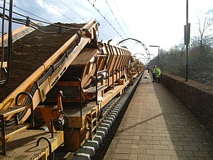 Hollandsche Rading railway station - Image: Hollandsche Rading 13 03 2005
