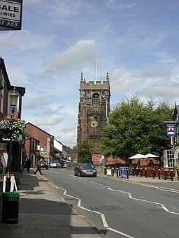 Holmes Chapel, church tower - geograph.org.uk - 1469096