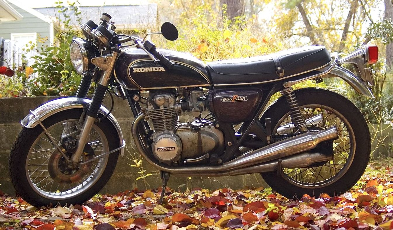 Honda CB550 - The complete information and online sale with