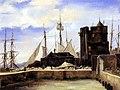 Honfleur, le vieux port (Camille Corot).jpg