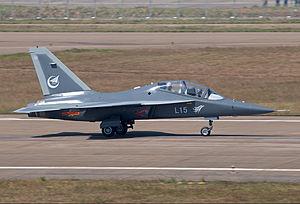 Hongdu L-15 - Image: Hongdu L 15 Falcon